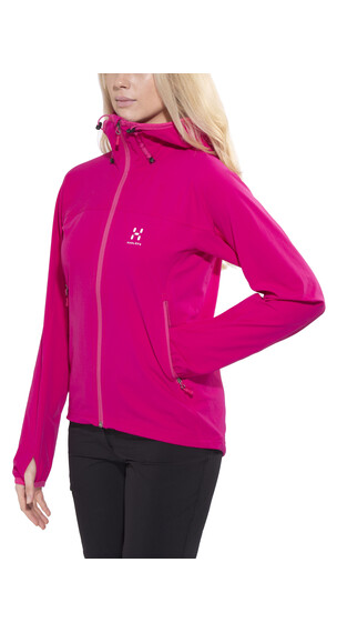 Haglöfs Boa Hood Women volcanic pink